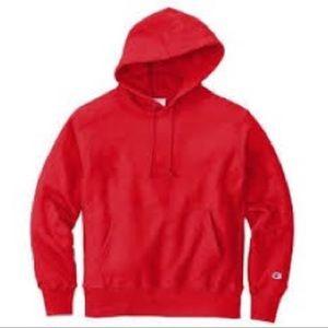 Champion reverse weave hoodie large